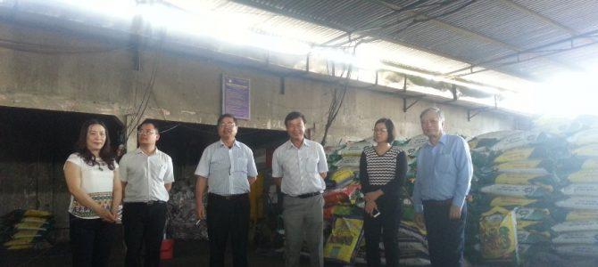 Đoàn làm việc Bộ Nông Nghiệp thăm nhà máy phân bón Công ty TNHH DDCT EAKMAT